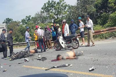 Xe tải tông chết 2 người đi xe máy ở Hà Nam, thi thể không còn nguyên vẹn