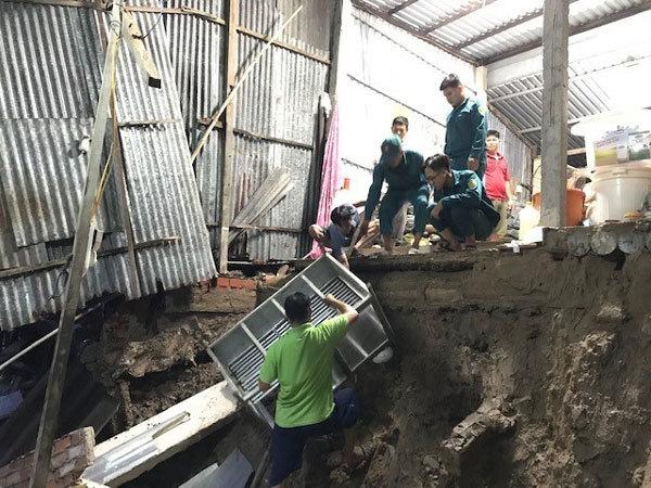 Landslides cause huge losses in Ca Mau