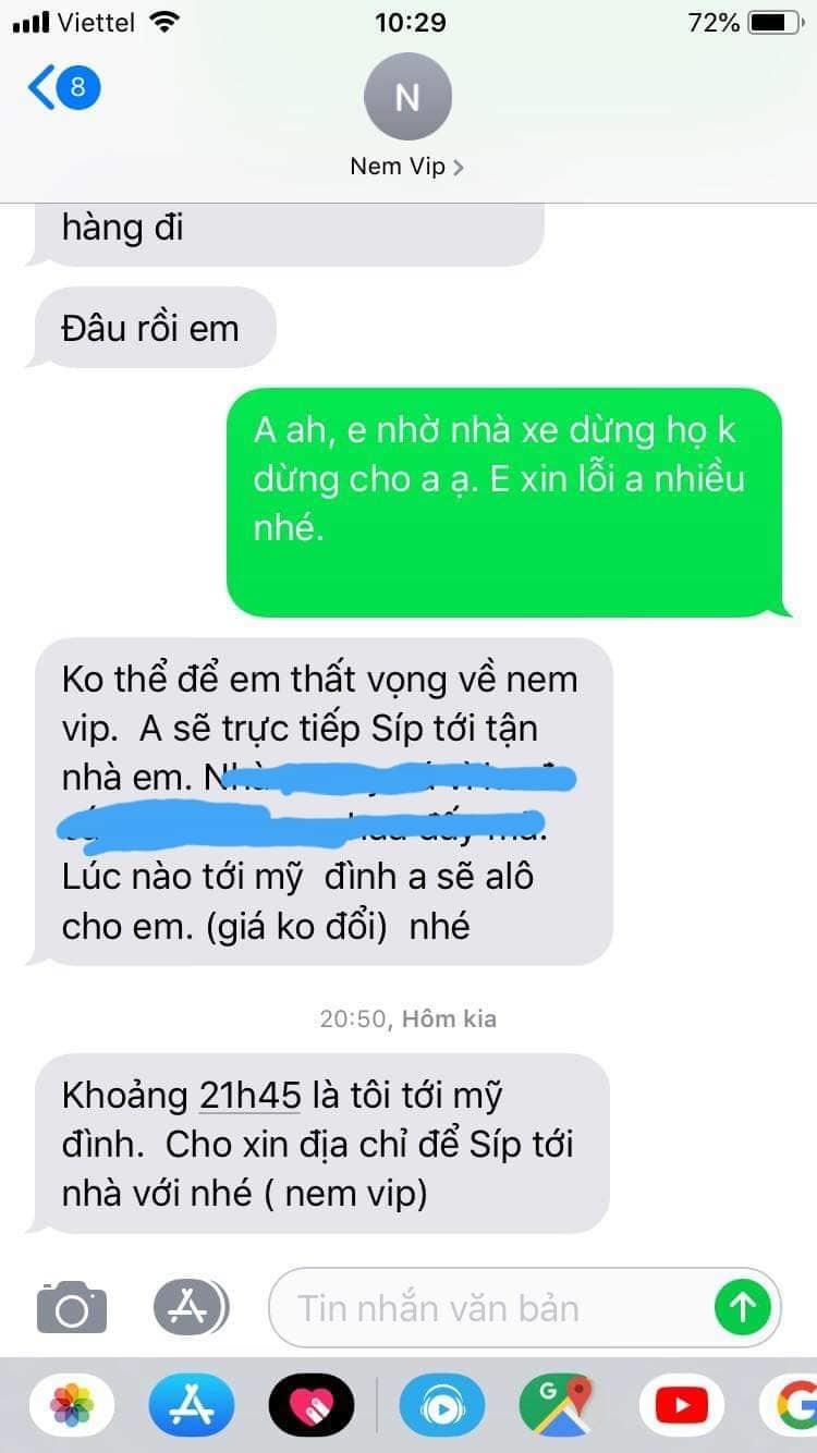 Bị nhỡ xe, ông chủ Thanh Hóa chạy 150 km giao 50 nem chua cho khách