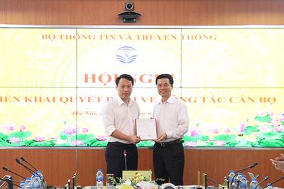 Bộ TT&TT bổ nhiệm ông Nguyễn Huy Dũng làm Cục trưởng Cục ATTT