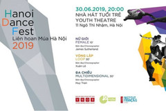 Dance festival to be on stage at Hanoi Youth Theatre