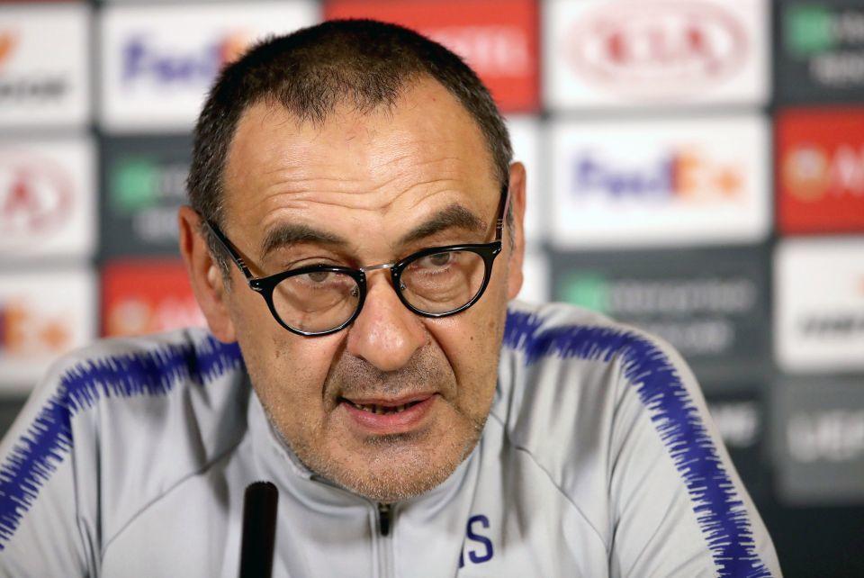 Chelsea,Maurizio Sarri,Juventus