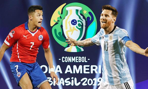 bản quyền phát sóng,copa america 2019