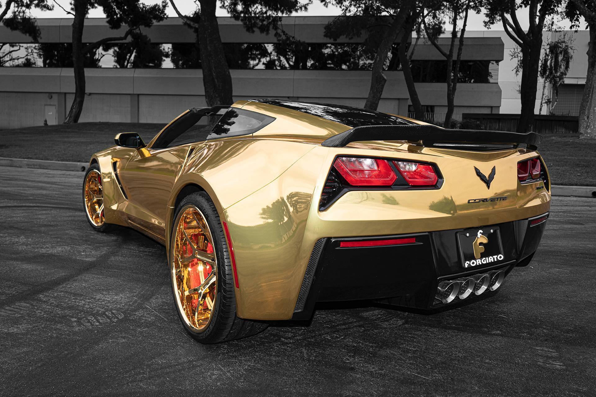 ô tô Chevrolet,xe độ,độ xe,xe dát vàng