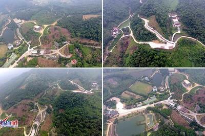 Hà Nội tháo dỡ công trình sai phép trong khu du lịch 233ha