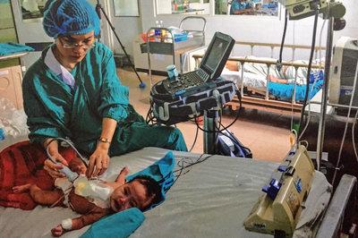 Bệnh nhân tim dưới 18 tuổi sẽ được Bệnh viện TƯ Huế mổ miễn phí