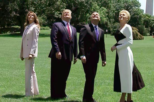 Màn đón tiếp đặc biệt ông Trump dành cho lãnh đạo Ba Lan