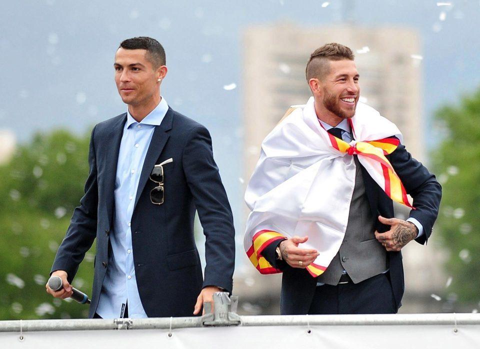 Real Madrid,Sergio Ramos,Ronaldo