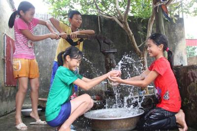 100% dân nông thôn Hà Nội sẽ được dùng nước sạch