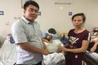 Trao hơn 29 triệu đồng đến anh Đào Xuân Nhạ bị tai nạn liệt giường