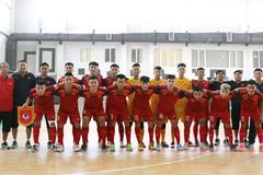 Vietnam U20 beat Mes Sungun of Iran in futsal friendly match