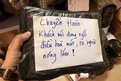 Chiêu 'bom hàng' khiến shipper cười đau trong nước mắt