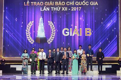 Vinh danh 106 tác phẩm đoạt giải Báo chí quốc gia 2018