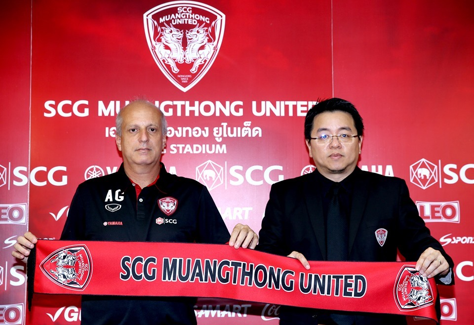 Muangthong United,Thai League,Thái Lan,HLV Alexandre Gama