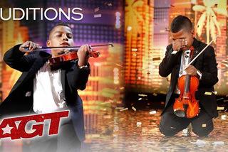 Cậu bé ung thư chơi violin làm lay động hàng triệu khán giả