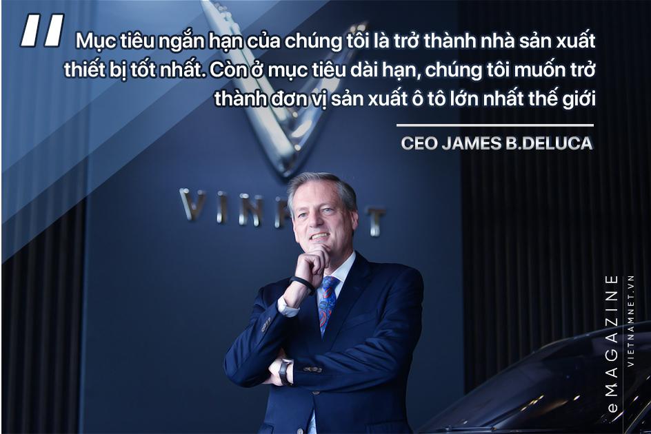 VinFast,CEO James B.Deluca,ô tô Vinfast