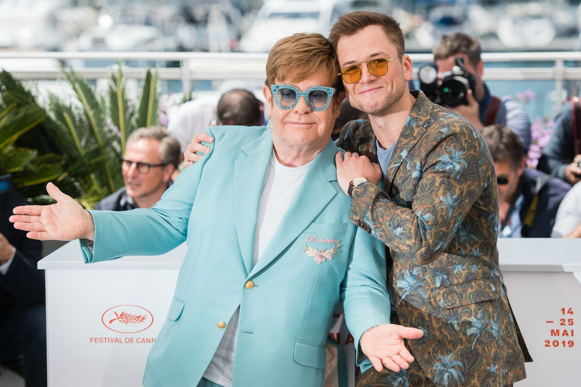 Elton John,Rocketman,Người hỏa tiễn,Taron Egerton