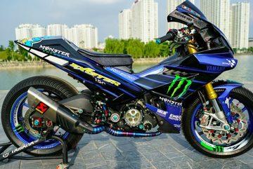 """Exciter độ đầu R1 cá trê, gắp """"quỷ đỏ"""" Ducati giá 300 triệu đồng"""