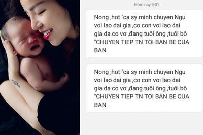 Minh Chuyên bức xúc khi bị tố có con với đại gia đã có vợ, đáng tuổi ông