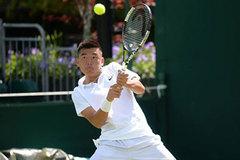Ly Hoag Nam advances to Hong Kong tennis tournament's quarters