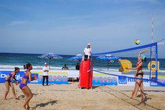 Central coastal village to host beach volleyball