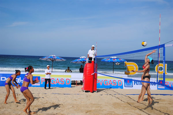 Central coastal village to host beach volleyball
