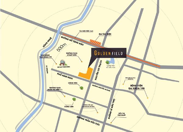Golden Field - dự án căn hộ sở hữu mức giá hấp dẫn khu vực Mỹ Đình