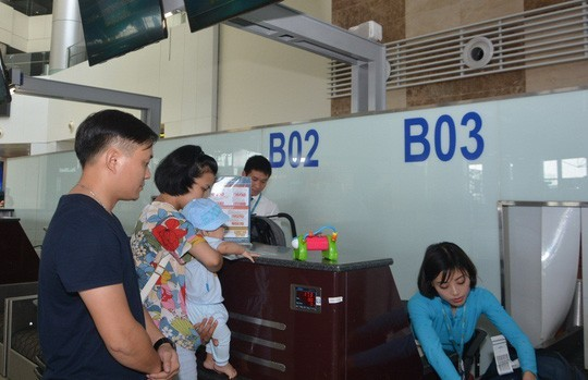 Vietnam Airlines to open family check-in counters