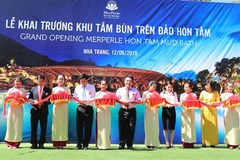 Vietnam's largest mud bath area on island opens in Khanh Hoa