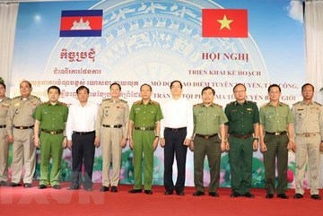 Drug crime crackdown launched along Vietnam-Cambodia border