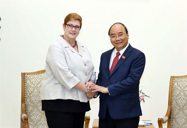 Prime Minister welcomes Australian Foreign Minister