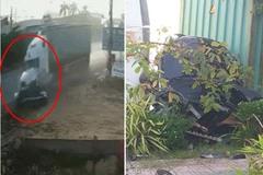 Clip kinh hoàng vụ xe container tông bẹp dúm ô tô 4 chỗ, 4 người lớn và 1 trẻ em thiệt mạng