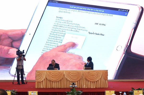 VN national public services portal soon opens this year