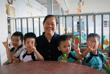 Abandoned children find a home with nuns in Lam Dong