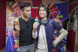 'Mr Cần trô' Xuân Nghị và Quang Trung đọ độ lầy trong 'Toy Story 4'
