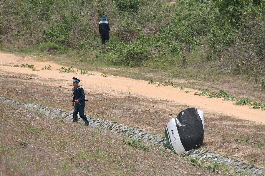 máy bay rơi,máy bay quân sự,Khánh Hòa