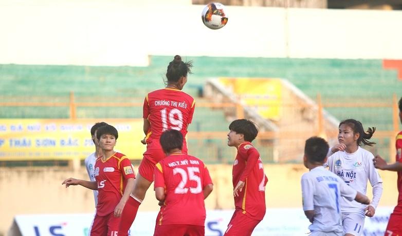 Vòng 2 giải nữ VĐQG: Hà Nội và TP.HCM I bất phân thắng bại