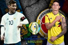 Argentina vs Colombia: Chờ khác biệt từ Messi