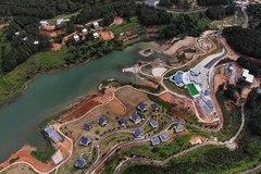 Nhiều dự án bất động sản sai phạm 'bao vây' hồ Tuyền Lâm ở Đà Lạt