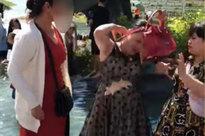 Tranh nhau vị trí chụp ảnh ở Đà Lạt, 2 phụ nữ lao vào 'ẩu đả' ngay giữa hồ nước