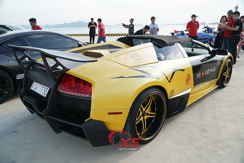 Tay chơi phố núi tiết lộ về siêu xe Lamborghini mui trần độc nhất Việt Nam
