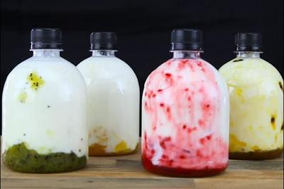 Cách làm sữa chua uống đơn giản tại nhà