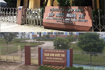 Sai phạm nhà máy nước ở Nghệ An, bưng bít kết quả quan trắc