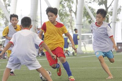 PVF tuyển sinh, tìm kiếm tài năng bóng đá trẻ khóa 11