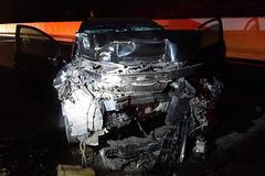 Ô tô lộn vòng trên cao tốc ở Quảng Ninh, tài xế tử vong tại chỗ