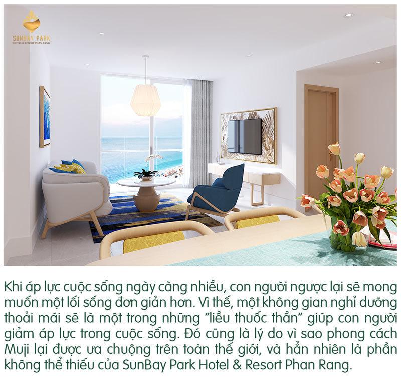 SunBay Park Hotel & Resort Phan Rang: Hé lộ thiết kế nội thất 'gây nghiện'
