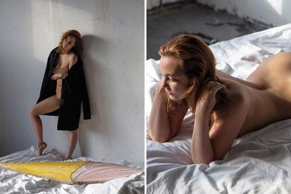 Nữ công chức Nga gây choáng vì chụp ảnh khỏa thân cho tạp chí Playboy