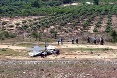 Đề xuất thăng quân hàm 2 phi công hy sinh trong vụ máy bay rơi