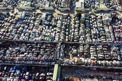 """Hàng nghìn siêu xe bạc tỷ chất đống như """"rác"""""""