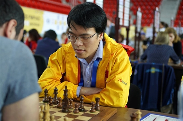Le Quang Liem ranks fifth at Asian Continental Chess Championships